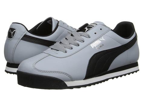 PUMA - Roma Basic (Black/Puma Silver) Men