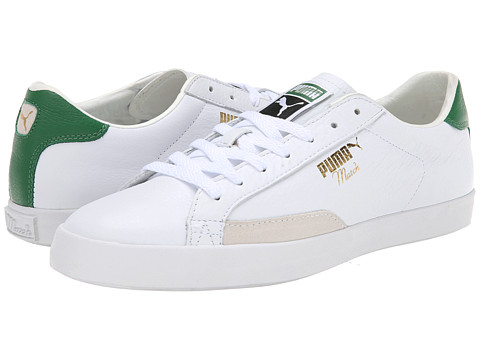 PUMA - Match Vulc (White/Amazon) Men's Classic Shoes