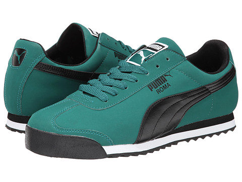 PUMA - Roma SL NBK 2 (Alpine/Green/Black) Men's Shoes