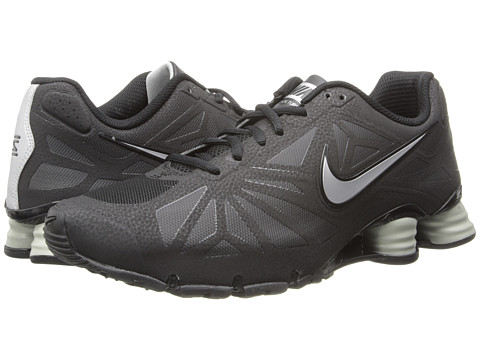 Nike - Shox Turbo 14 (Black/Metallic Silver/Black) Men's Shoes