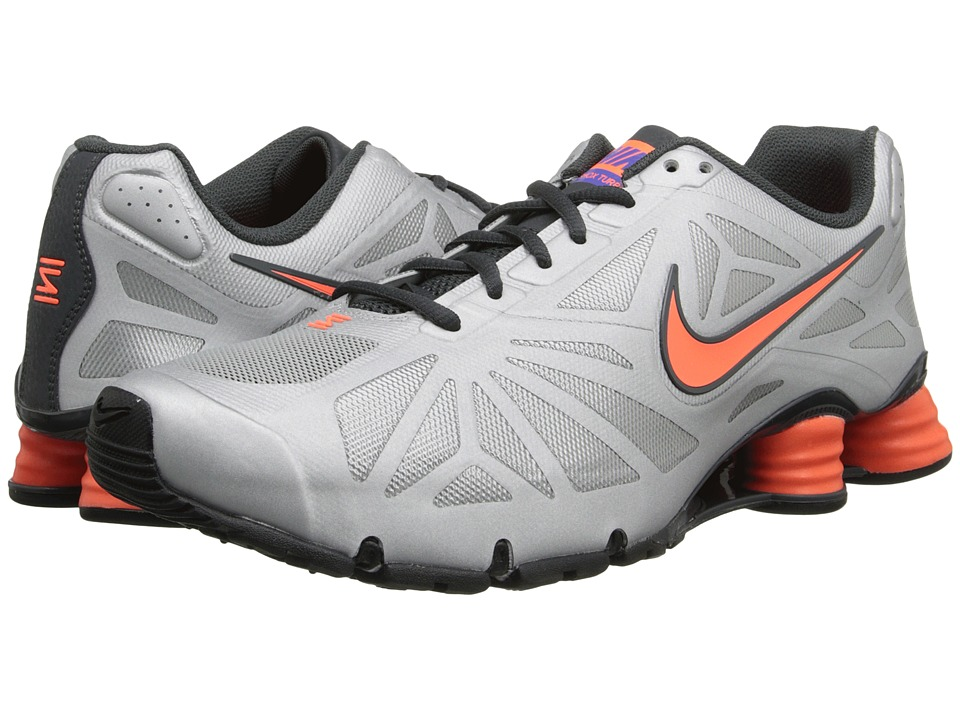 Nike - Shox Turbo 14 (Metallic Silver/Hyper Crimson/Anthracite) Men's Shoes