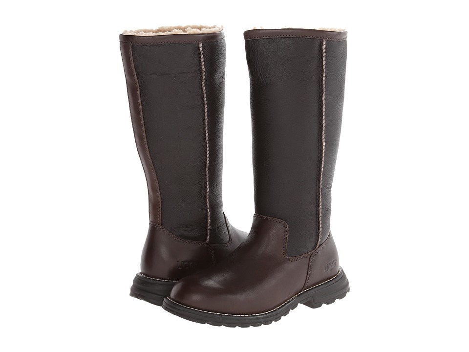 UGG - Brooks Tall (Brown) Women's Pull-on Boots