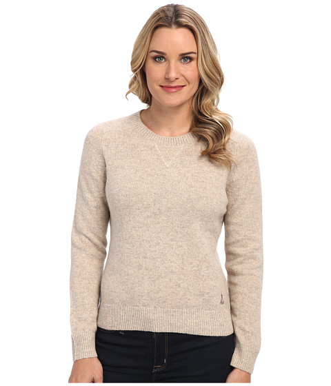 Pendleton - Patches Pullover (Natural Heather) Women