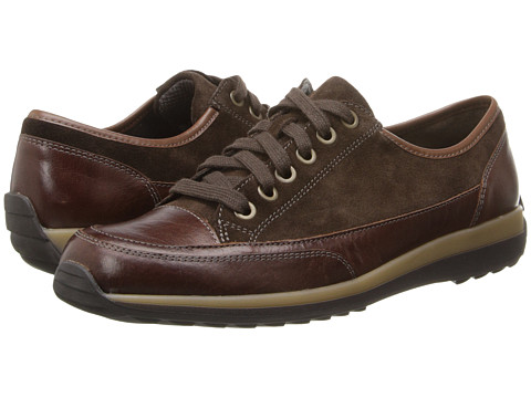 ara - Hermione (Dark Brown Suede/Brown Calf) Women's Shoes