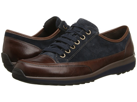 ara - Hermione (Navy Suede/Brown Calf) Women