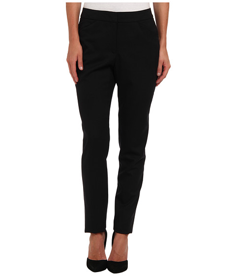 Pendleton - Ultra 9 Stretch Worsted Slim Pant (Black Ultra 9 Stretch Worsted) Women