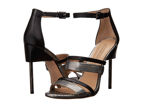 BCBGMAXAZRIA - Deanna (Pewter/Silver Iguana) High Heels