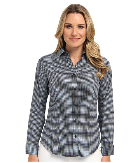 Pendleton - Sara Shirt (Indigo Print) Women's Long Sleeve Button Up
