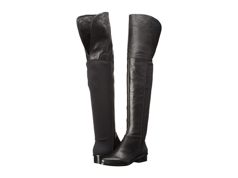 BCBGMAXAZRIA - Slink (Black Vachetta/Scuba) Women's Pull-on Boots