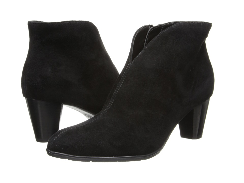ara Tricia (Black Suede/Canvas 1) Women