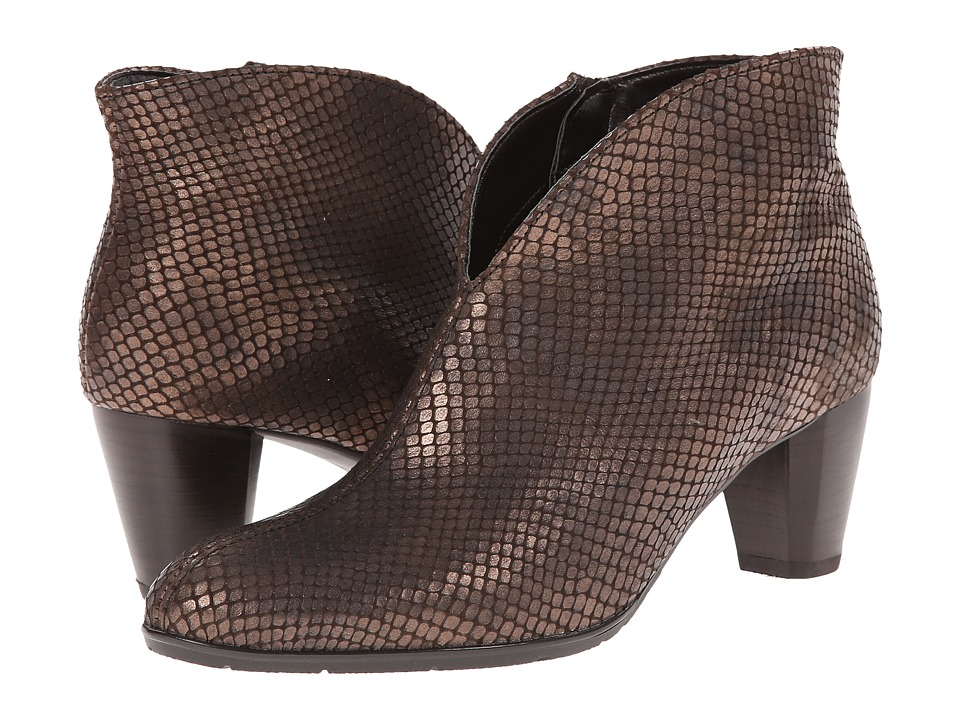 ara - Tricia (Copper Snake Print Metallic) Women