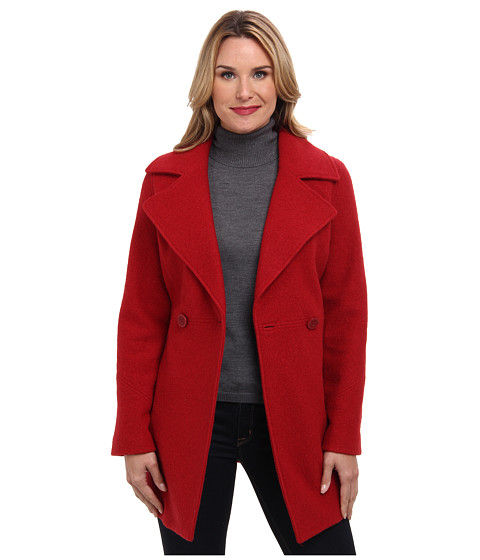 Pendleton - Boiled Wool Coat (Red Rock) Women