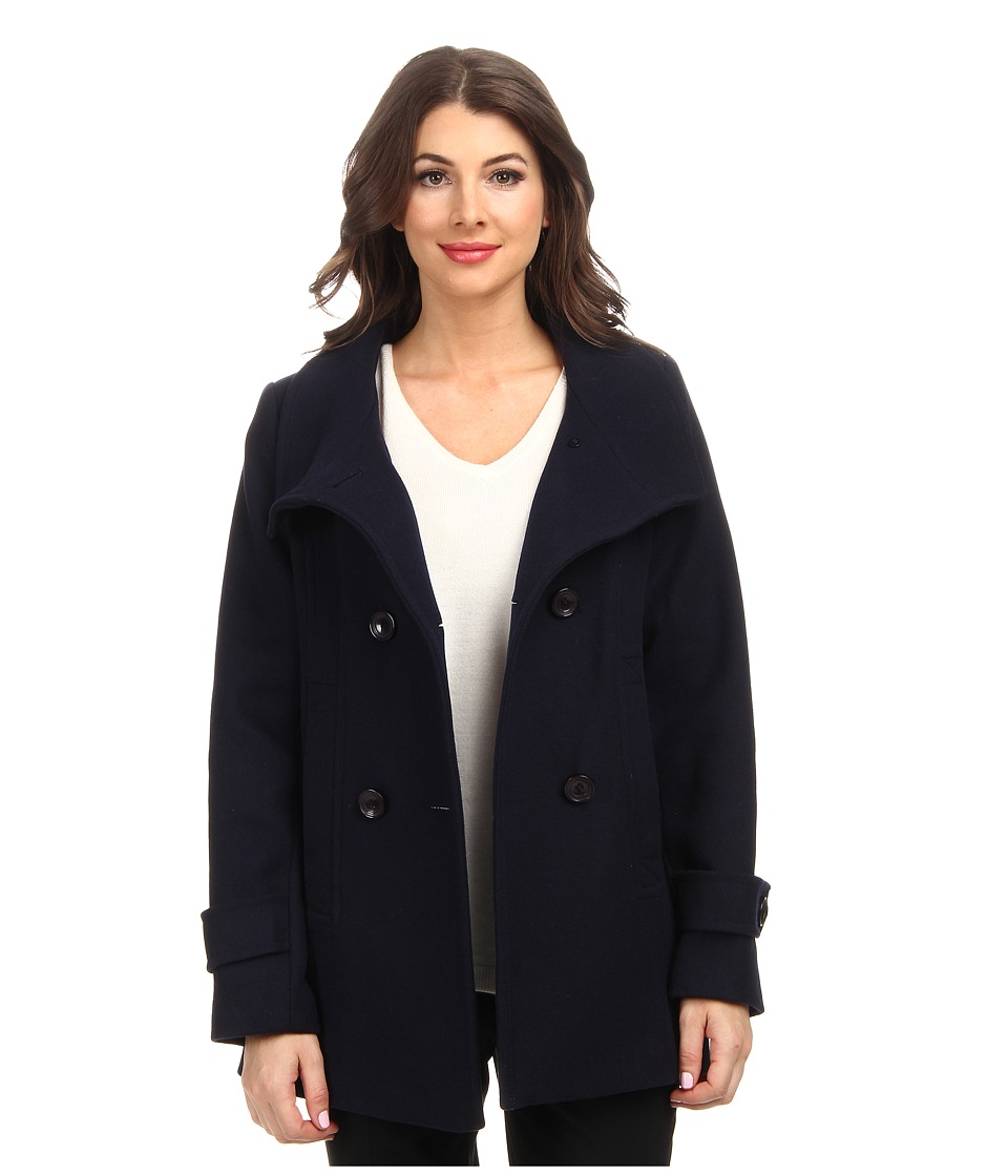 Pendleton - Pea Coat (Navy) Women
