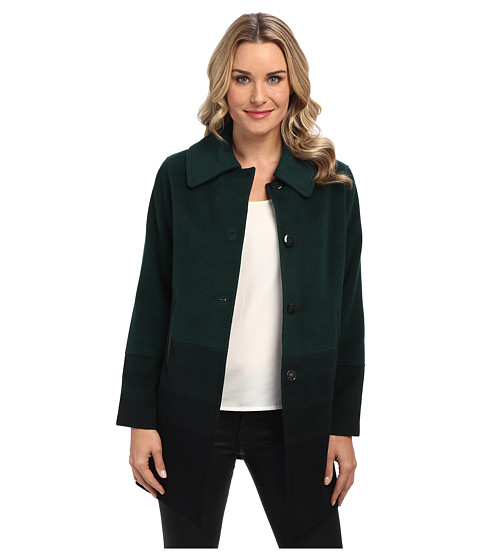 Pendleton - Topper Coat (Green Ombre) Women