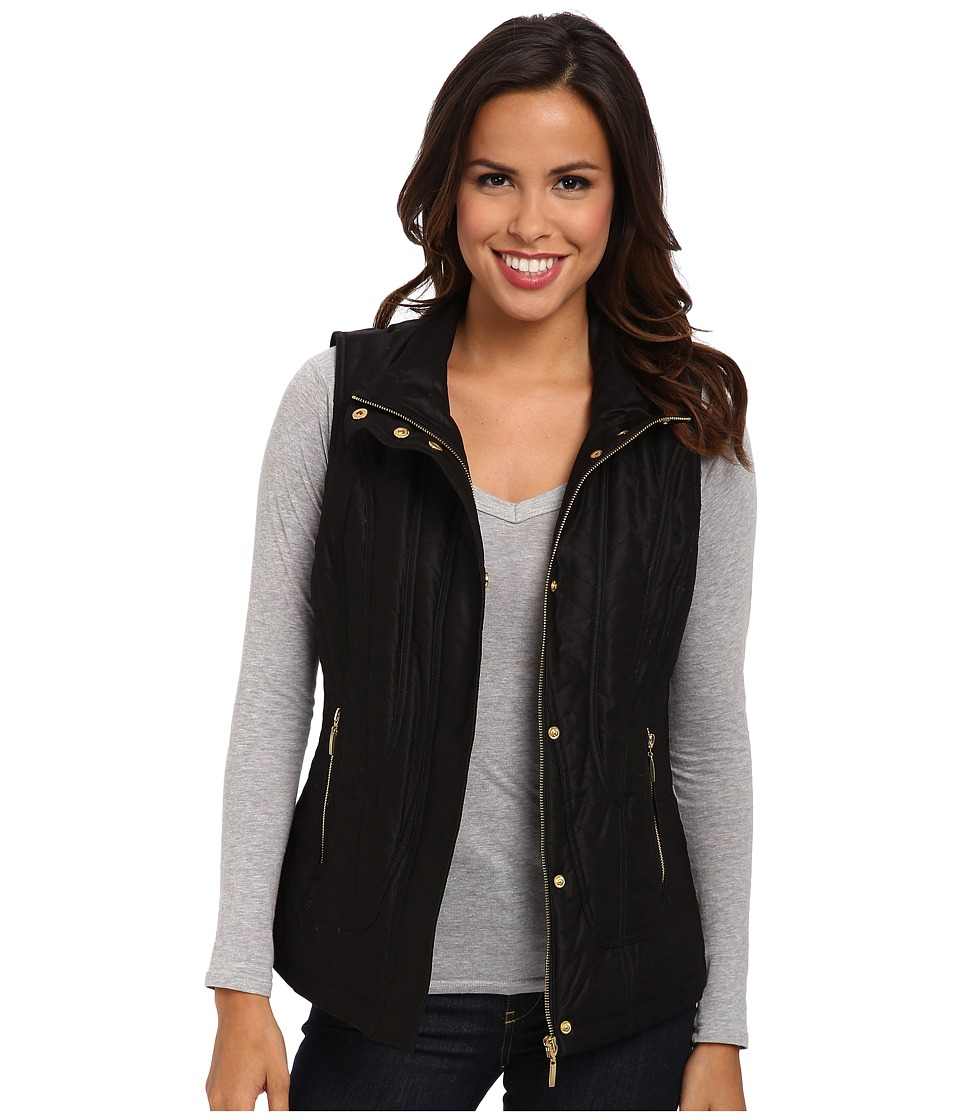 Pendleton - Quilted Vest (Black) Women's Vest