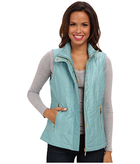 Pendleton - Quilted Vest (Aqua Sea) Women's Vest