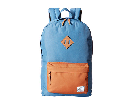Herschel Supply Co. - Heritage (Cadet Blue/Copper) Backpack Bags