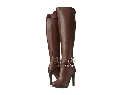 Luichiny - Want To Be (Brown) Women's Dress Zip Boots