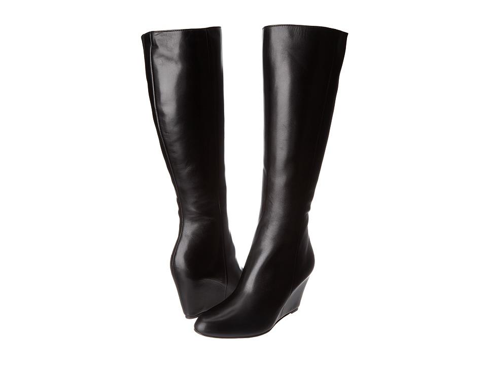 Via Spiga - Adina (Black Chantal Calf) Women's Boots