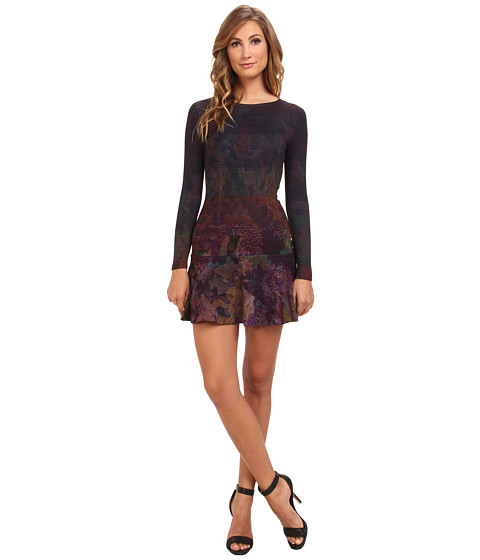 French Connection - Ombre Orchard Jersey 71CAN (Dark Multi) Women's Dress