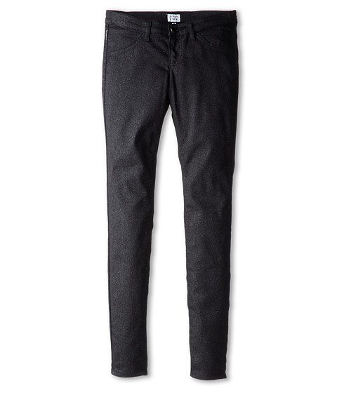 Armani Junior - Five-Pocket Pant (Big Kids) (Nero/Black) Girl
