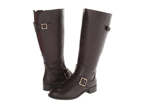 LifeStride - Spell (3) Wide Shaft (Dark Brown Kraft WS) Women's Zip Boots