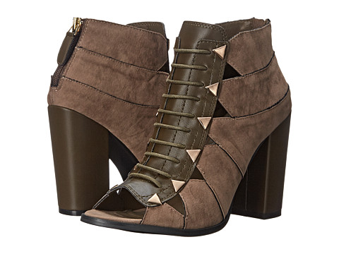 C Label - Alix-7 (Taupe) Women's Boots