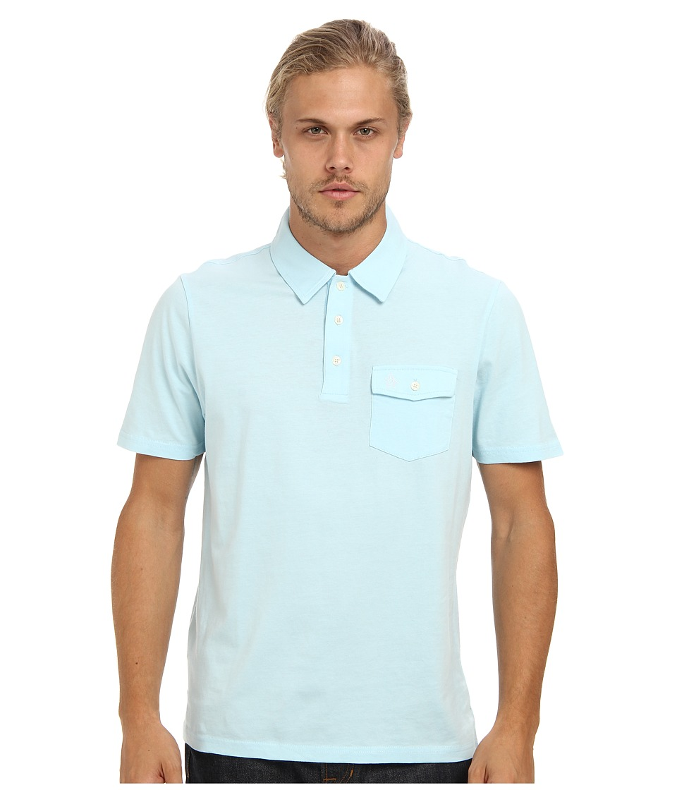 Original Penguin - Smack Polo (Crystal Blue) Men's Clothing