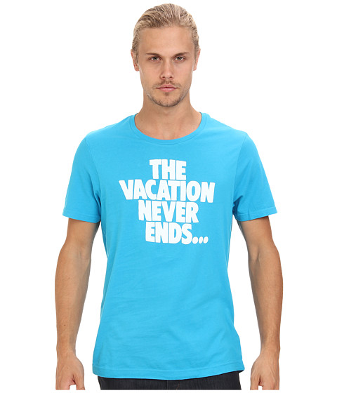 Original Penguin - Vacation Tee (Vivid Blue) Men