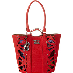 SALE! $37.99 - Save $81 on Kathy Van Zeeland Hide Seek Tote (Fire Brick) Bags and Luggage - 68.08% OFF $119.00