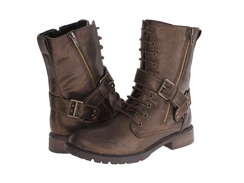 DOLCE by Mojo Moxy - Corporal (Bronze) Women's Lace-up Boots