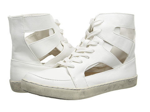 C Label - Randy-13 (White) Women's Lace up casual Shoes