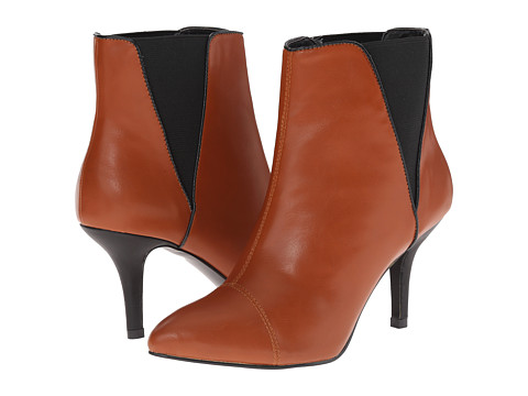 C Label - Natalie-4 (Chestnut/Black) Women's Boots