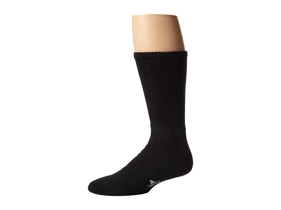 Wigwam - At Work King Cotton High 3-Pair Pack (Black) Knee High Socks Shoes