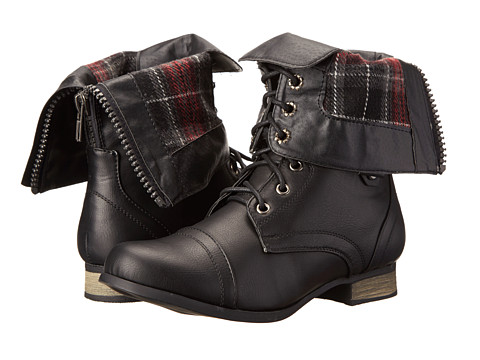 Charles Albert - Cablee - Plaid (Black) Women's Shoes