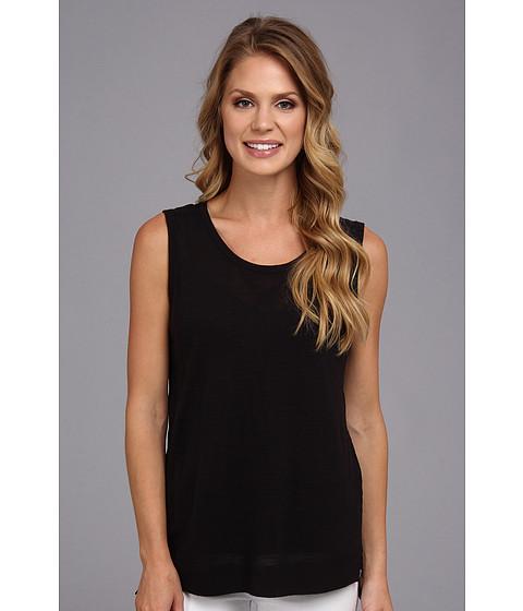 Calvin Klein - Shell w/ Linen (Black) Women