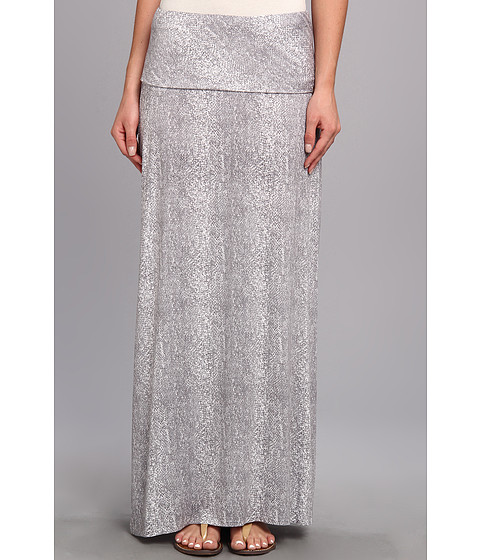 Calvin Klein - Printed Maxi Skirt (Grey Combo) Women