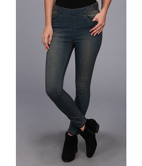 Free People - Side Zip Indigo Jean in Coyote Wash (Coyote Wash) Women's Jeans
