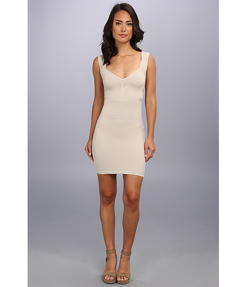 Free People - Bodycon Seamless (Champagne) Women's Dress