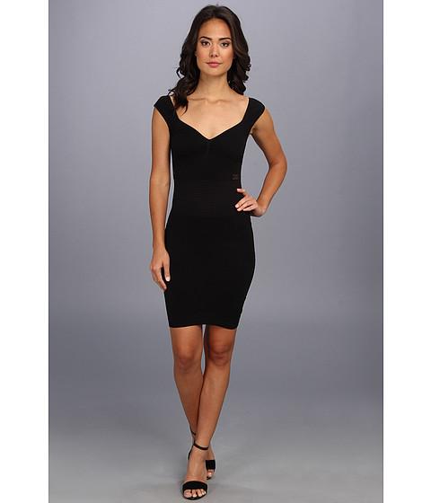 Free People - Bodycon Seamless (Black) Women's Dress