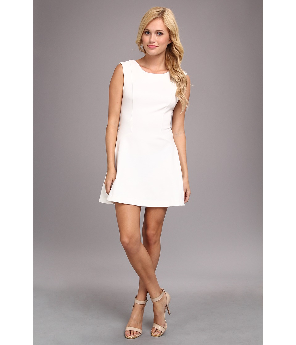 Free People - Cha Cha Solid Dress (Ivory) Women's Dress