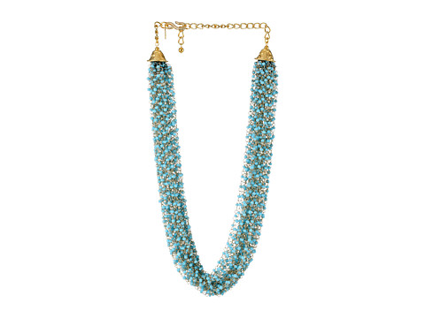 Kenneth Jay Lane - 6718NT (Gold/Turquoise) Necklace