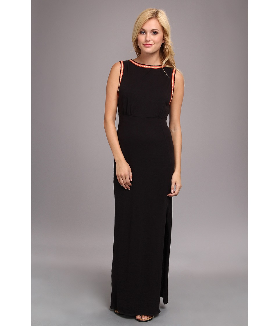 Free People - Sabrina Maxi Dress (Black) Women