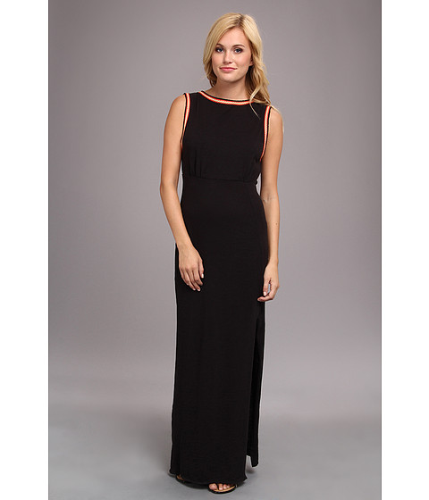 Free People - Sabrina Maxi Dress (Black) Women's Dress