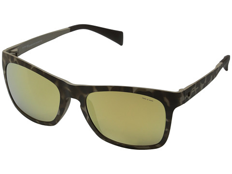 Italia Independent - 112 (Brown Pattern) Fashion Sunglasses