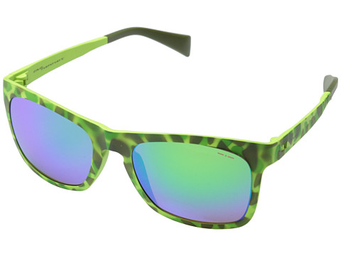 Italia Independent - 112 (Green Pattern) Fashion Sunglasses