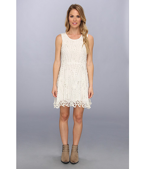 Free People - Sprkling Beauty Dress (Off White) Women