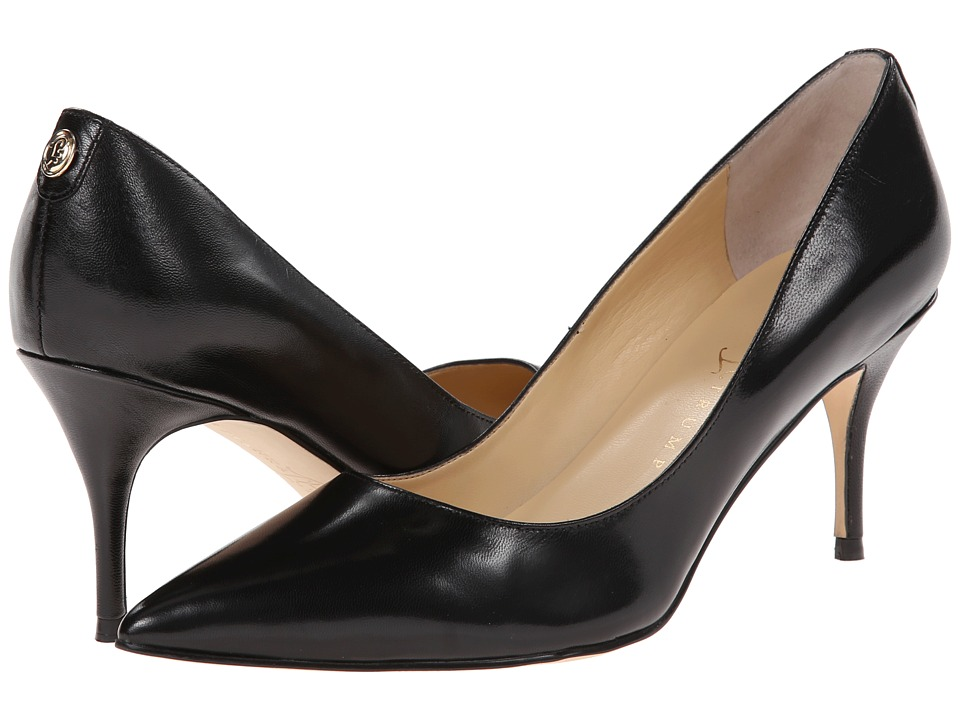 Ivanka Trump - Tirra (Black Leather) High Heels