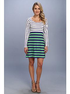 SALE! $49.99 - Save $48 on Nally Millie Stripe Print Sweater Dress (Multi) Apparel - 48.99% OFF $98.00
