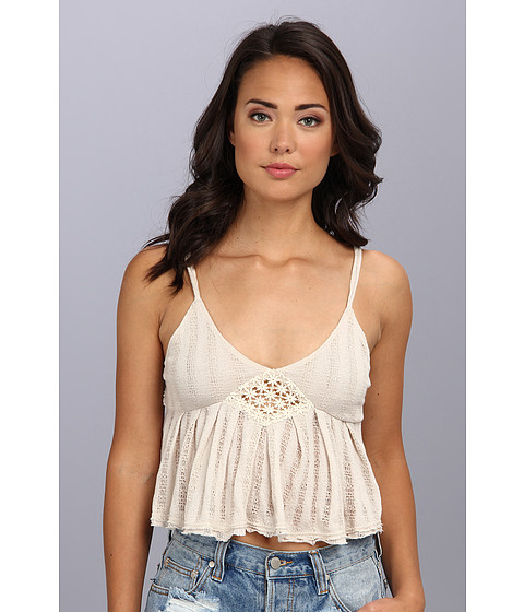 Free People - Lace Romance Top (Ballet Heather) Women's Sleeveless